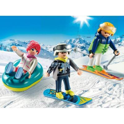 Playmobil 9286 Winter Sports Trio - Family Fun
