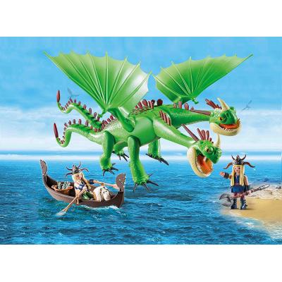 Playmobil 9458 - Ruffnut and Tuffnut Twins with Barf and Belch - Dragons