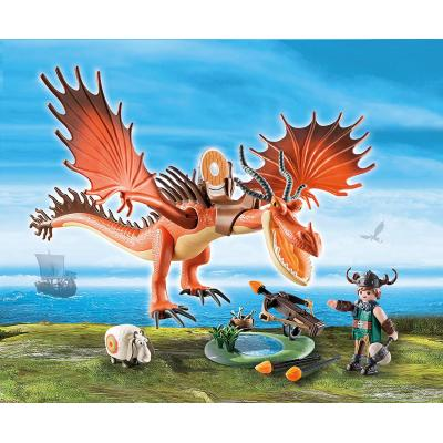 Playmobil 9459 - Snotlout and Hookfang - Dragons