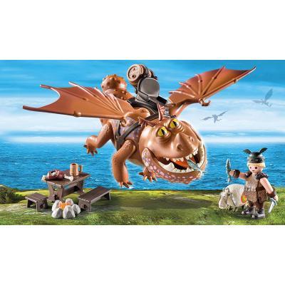 Playmobil 9460 - Fishlegs and Meatlug - Dragons