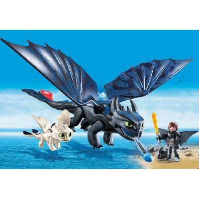 Playmobil 70037 - Hiccup and Toothless with Baby Dragon - Dragons 3