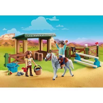 Playmobil 70119 - Riding Arena with Lucky & Javier - Spirit - Riding Free