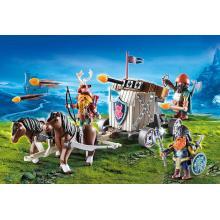 Playmobil 9341 - Horse-Drawn Ballista - Knights