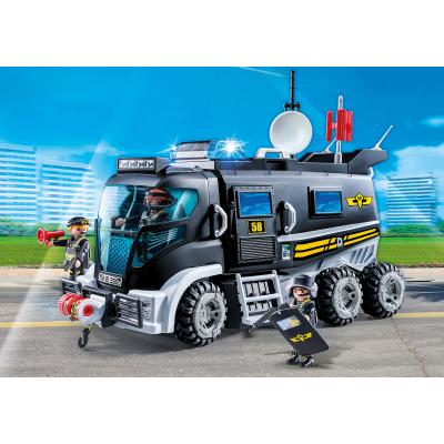 Playmobil 9360 -  Police SWAT Team Truck - City Action