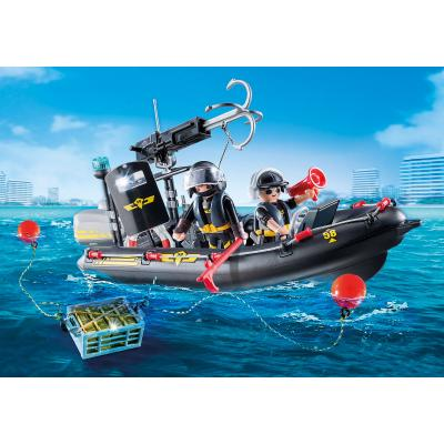 Playmobil 9362 - Police SWAT Speed Boat - City Action