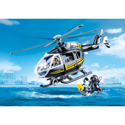 Playmobil 9363 - Police SWAT Helicopter - City Action