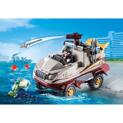Playmobil 9364 - Amphibious Gangster Truck - City Action
