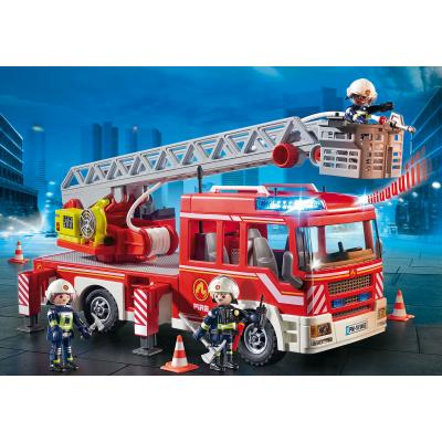 Playmobil 9463 Fire Ladder Unit Truck City Action