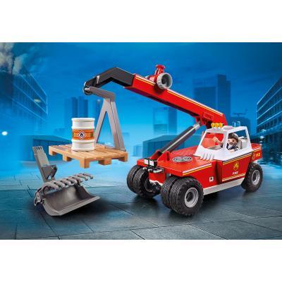 Playmobil 9465 - Fire Crane Telehandler - City Action Fire Department