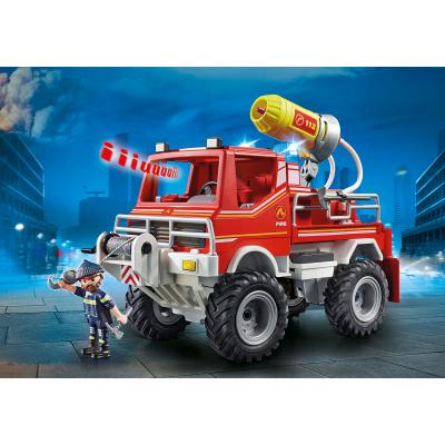 Playmobil 9466 Fire Foam Cannon Truck City Action