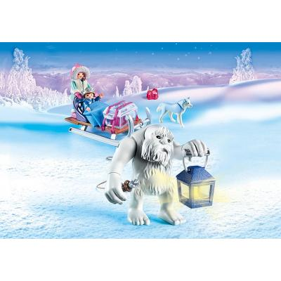 Playmobil 9473 - Yeti with Sleigh - Magic