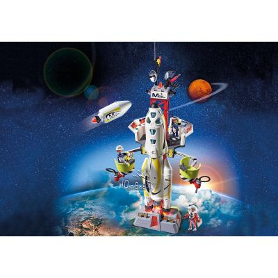 Playmobil 9488 - Mission Rocket with Launch Site - Space
