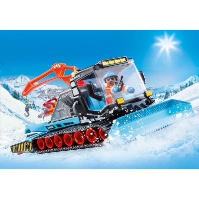 Playmobil 9500 -  Snow Plow Caterpillar Truck - Family Fun