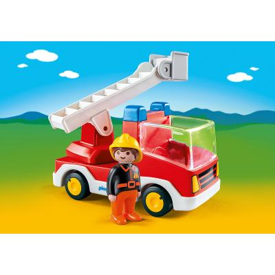 Playmobil 6967 - Ladder Unit Fire Truck - Playmobil 1.2.3.