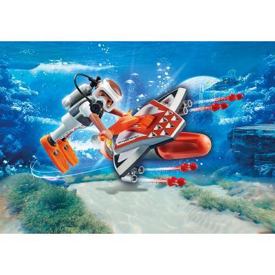Playmobil 70004 Spy Team Underwater Wing - Top Agents