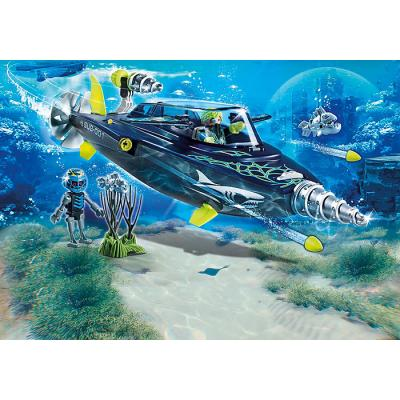 Playmobil 70005 Team S.H.A.R.K. Drill Destroyer - Top Agents