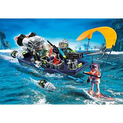 Playmobil 70006 Team S.H.A.R.K. Harpoon Craft - Top Agents