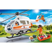 Playmobil 70048 City Life Emergency Rescue Helicopter