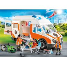 Playmobil 70049 City Life Ambulance with Light and Sound Multi-Coloured