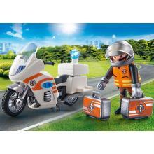 Playmobil 70051 City Life Emergency Motorbike