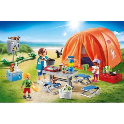 Playmobil 70089 - Family Camping Trip