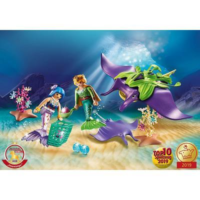 Playmobil 70099 - Pearl Collectors with Manta Ray - Magic