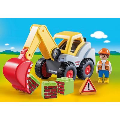 Playmobil 70125 - Shovel Excavator - Playmobil 1.2.3