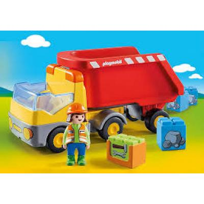 Playmobil 70126 - Dump Truck - Playmobil 1.2.3