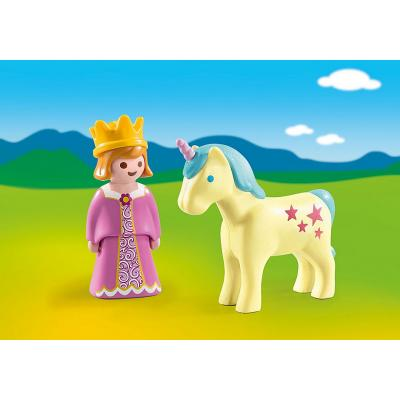 Playmobil 70127 - Princess with Unicorn - Playmobil 1.2.3