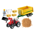 Playmobil 70131 - Tractor With Feed Trailer - Country Farm