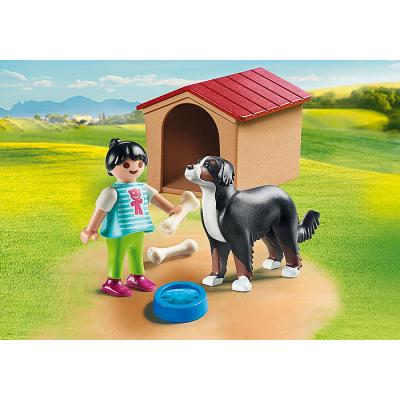Playmobil 70136 - Dog with Doghouse - Country