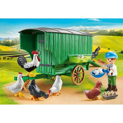 Playmobil 70138 - Chicken Coop - Country