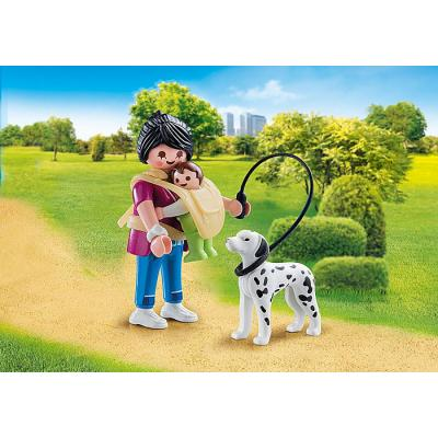 Playmobil 70154 - Mother with Baby and Dog