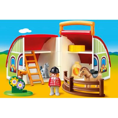 Playmobil 70180 - My Take Along Pony Farm - Playmobil 1.2.3