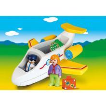 Playmobil 70185 - Plane with Passenger - Playmobil 1.2.3