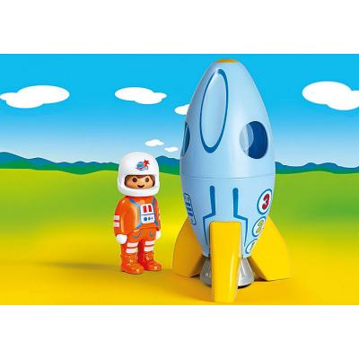 Playmobil 70186 - Astronaut with Rocket - Playmobil 1.2.3