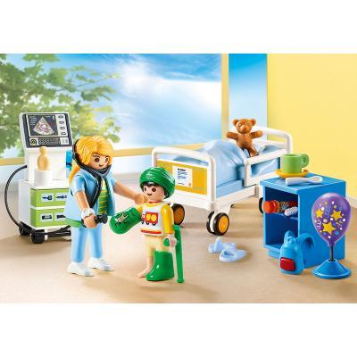 Playmobil 70192 - Children's Hospital Room - City Life