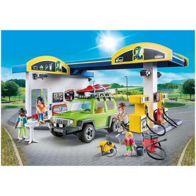 Playmobil 70201 - Gas Station - City Life