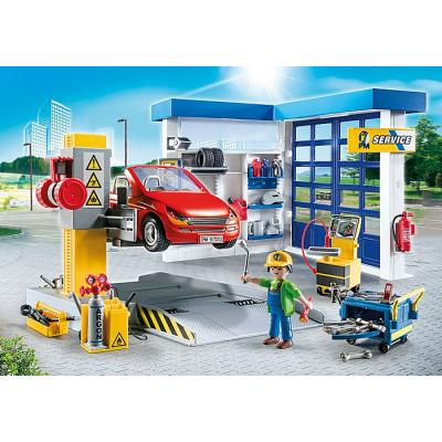 Playmobil 70202 - Car Repair Garage - City Life