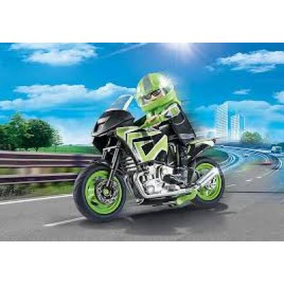 Playmobil 70204 - Motorcycle with Rider - City Life