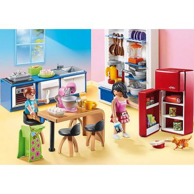 Playmobil 70206 - Family Kitchen - Dollhouse