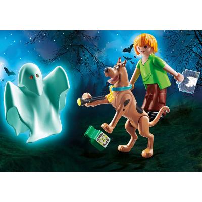 Playmobil 70287 - Scooby & Shaggy with Ghost - Scooby-Doo!