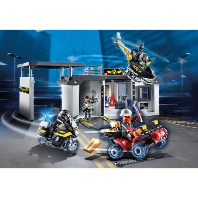 Playmobil 70338 - Take Along Tactical Unit Headquarters - City Action