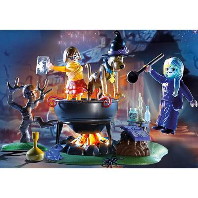 Playmobil 70366 - Adventure in Witch Cauldron - Scooby-Doo!