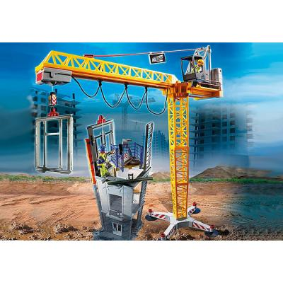 Playmobil 70441 - RC Crane with Building Section - City Action