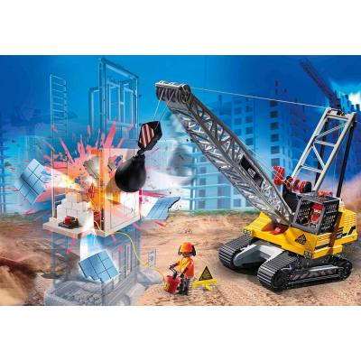 Playmobil 70442 - Demolition Crane - City Action