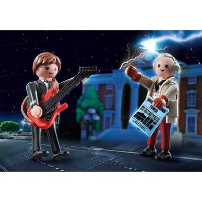 Playmobil 70459 - Back to the Future Marty McFly and Doc Brown