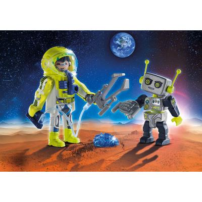9448 Playmobil Astronauts Duo Figure Set Space Suitable for ages 4 years and up
