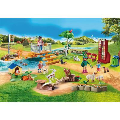 Playmobil 70342 - Petting Zoo - Family Fun