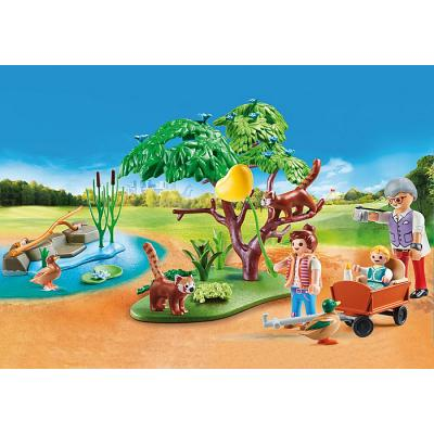 Playmobil 70344 - Red Panda Habitat - Family Fun